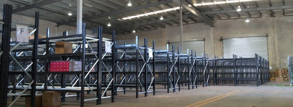 Industrial shelving Brisbane