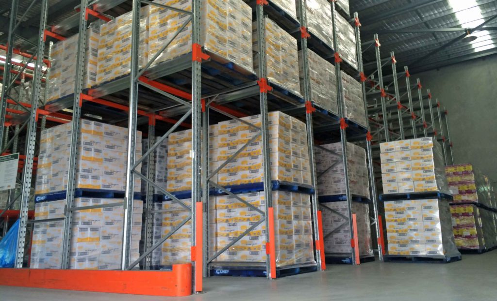 LIFO Pallet Racking Brisbane