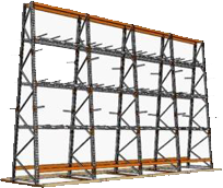 A-frame Racking