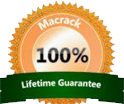 MACRACK Lifetime Guarantee