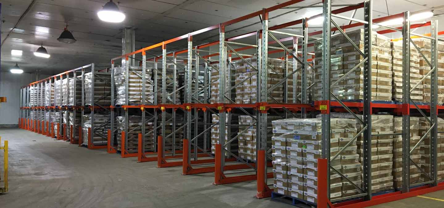 Howto Calculate Warehouse Rack Space