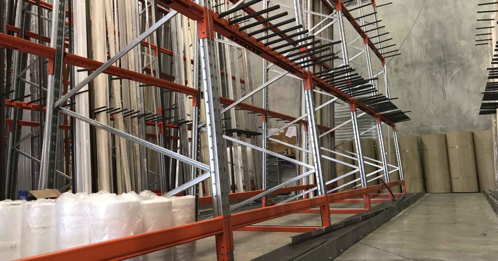 Aluminium Profile Rack
