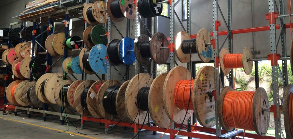 cable drum storage Newstead