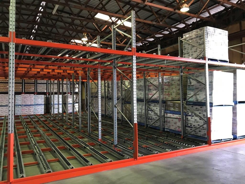 pallet flow racking Mackay
