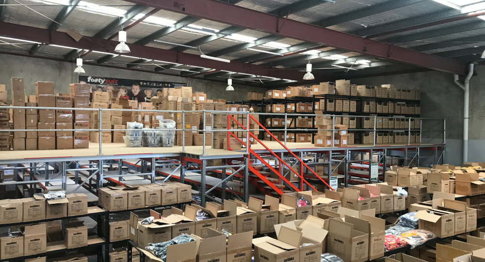 Warehouse Mezzanine Floor Brisbane