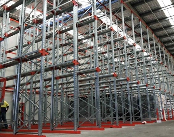 Drive in pallet racking Pinkenba