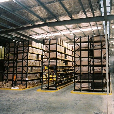 Narrow Aisle Racking Hervey Bay