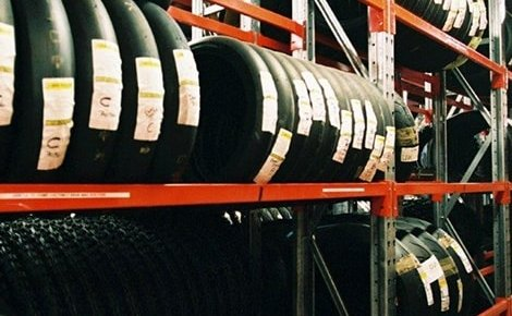 Tyre Storage Racking