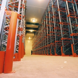maximise storage for a cold storage warehouse