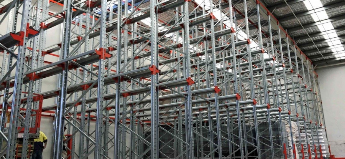 Drive in pallet racking gosford