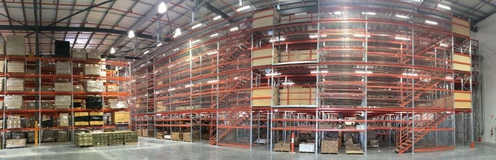 Warehouse Mezzanine Floors Ipswich