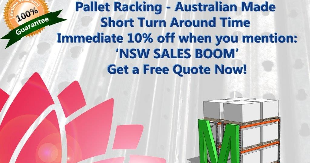 NSW-PALLET-RACKING-SALE