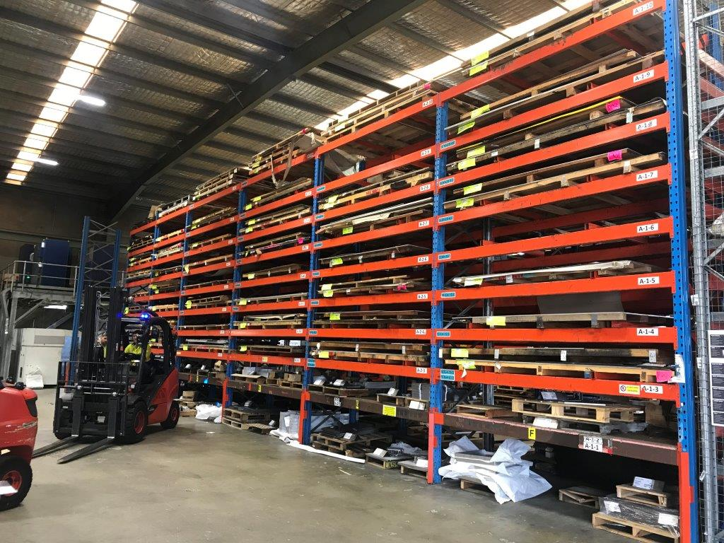 sheet racking wooloongong