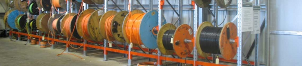 Cable Drum Rack