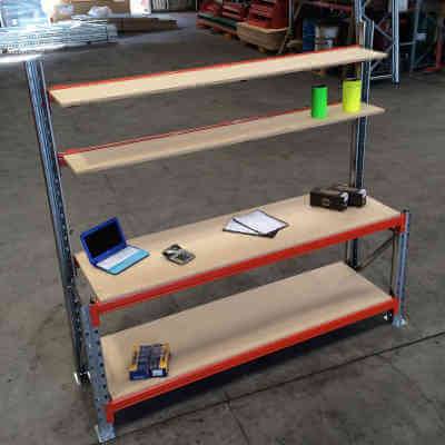 Industrial Work Bench Packing Brisbane QLD