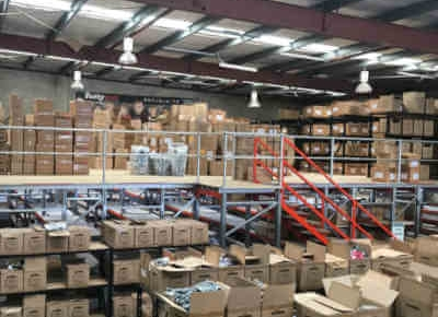 Warehouse Mezzanine Floors & Raised Storage Areas