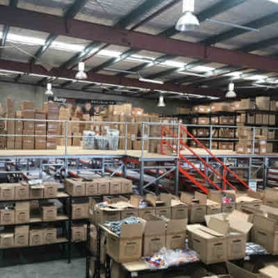 warehouse mezzanine floor or raised storage area brisbane